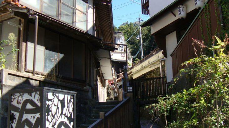 西日本豪雨を受け、有福温泉が無料入浴実施